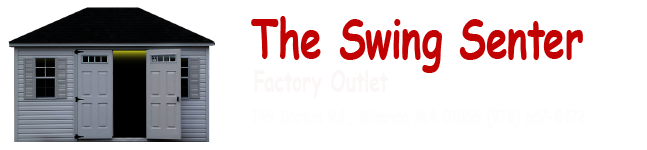 The Swing Senter Factory Outlet, 749 Boston Road, P.O Box 158 Billerica, MA 01806